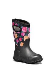 bogs  York Water Rose Waterproof Boots - Front full body