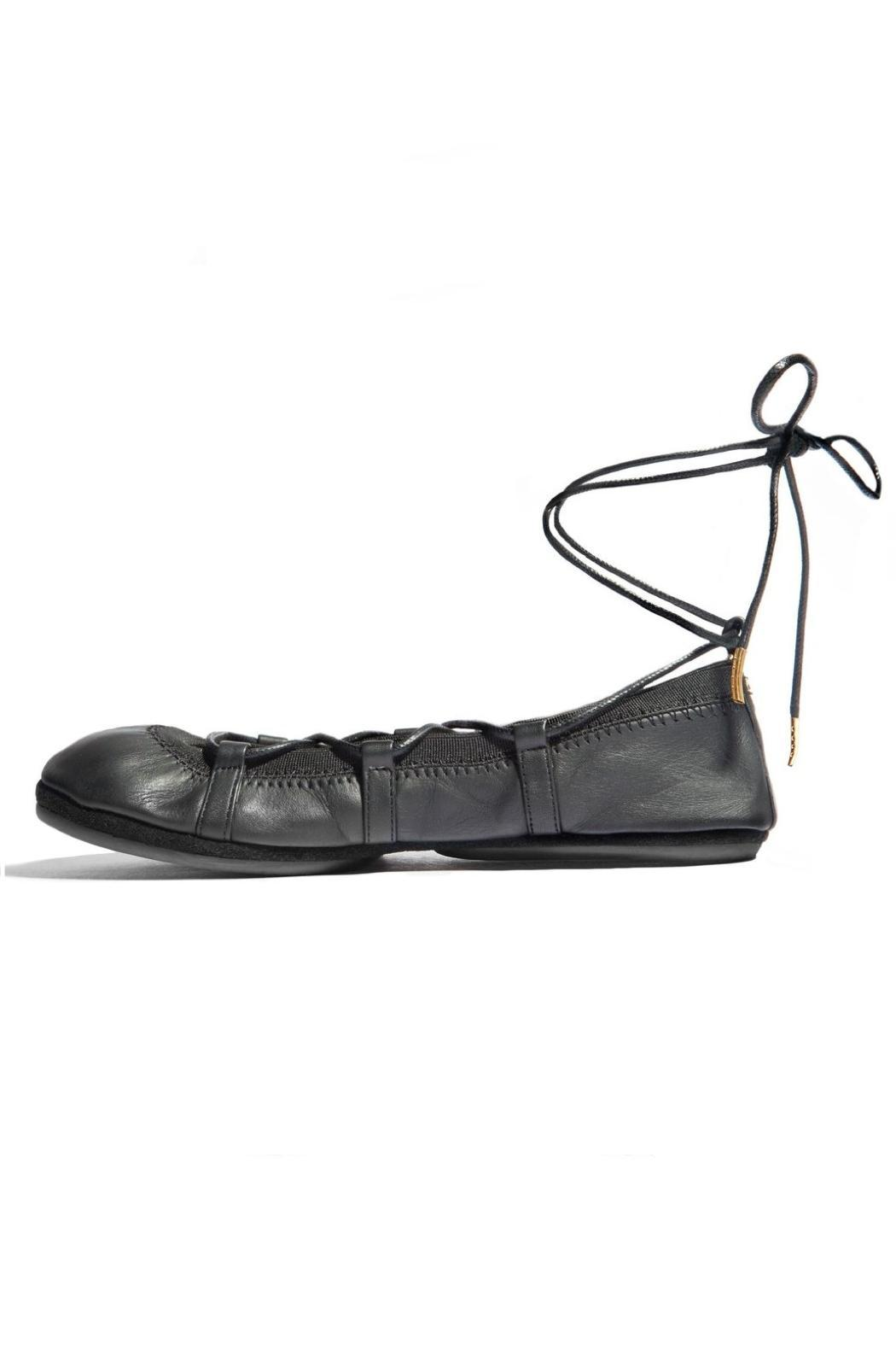 Yosi Samra Seleste Lace Up Flat - Main Image