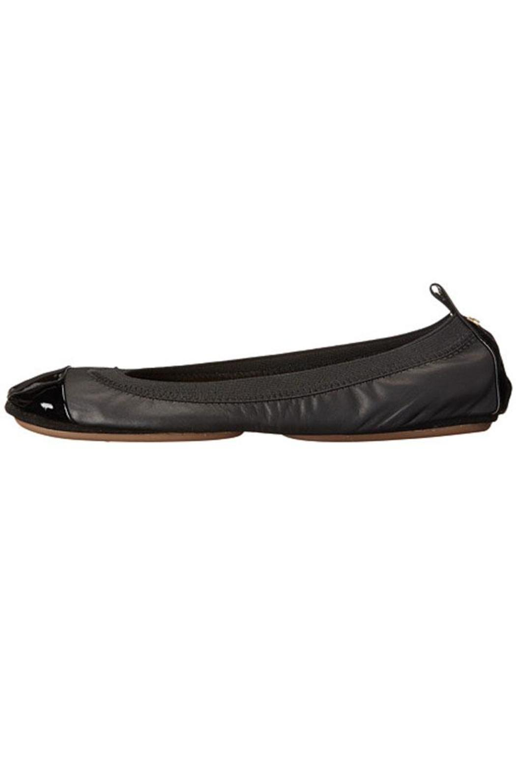 Yosi Samra Two-Tone Foldable Flats - Main Image
