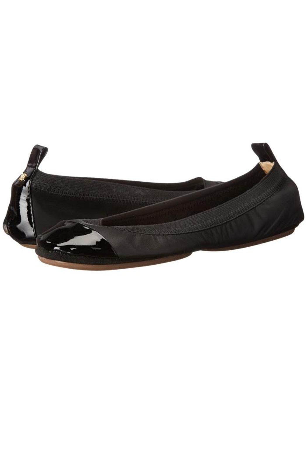 Yosi Samra Two-Tone Foldable Flats - Front Full Image