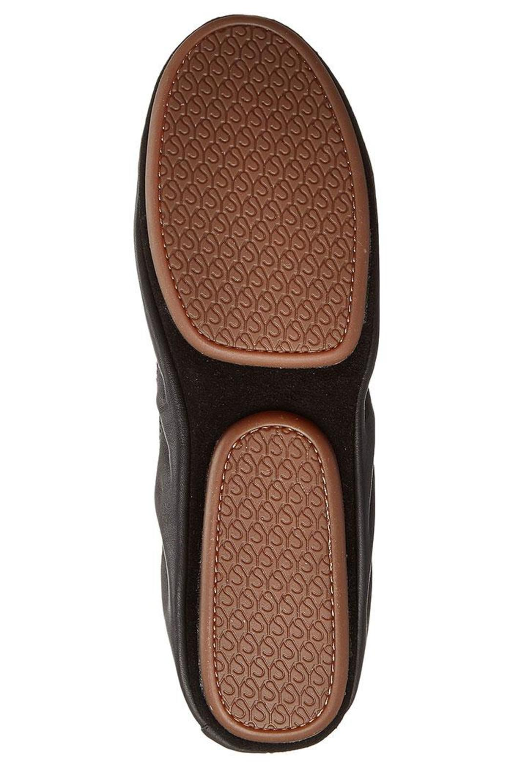 Yosi Samra Two-Tone Foldable Flats - Back Cropped Image