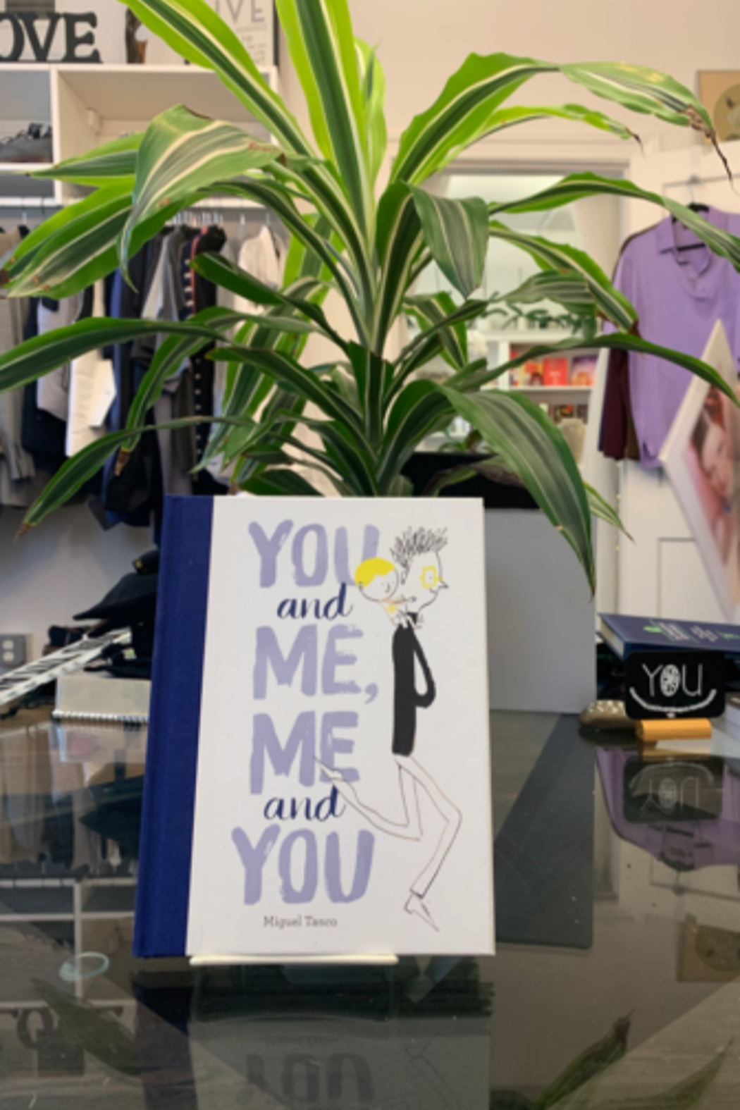 Miguel Tanco  You and Me, Me and You - Front Cropped Image