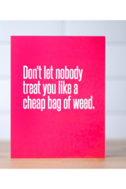 MERIWETHER You are Cocaine...Friendship Card - Product Mini Image