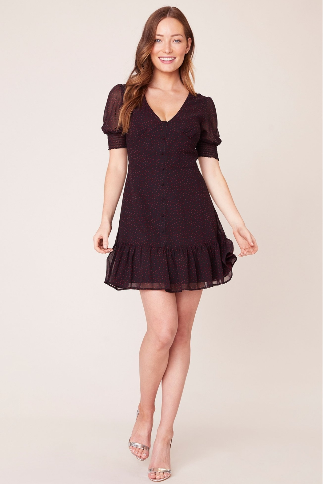 BB Dakota You Give me Fever Dress - Side Cropped Image