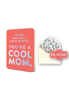 Shoptiques Product: You're a Cool Mom Greeting Card