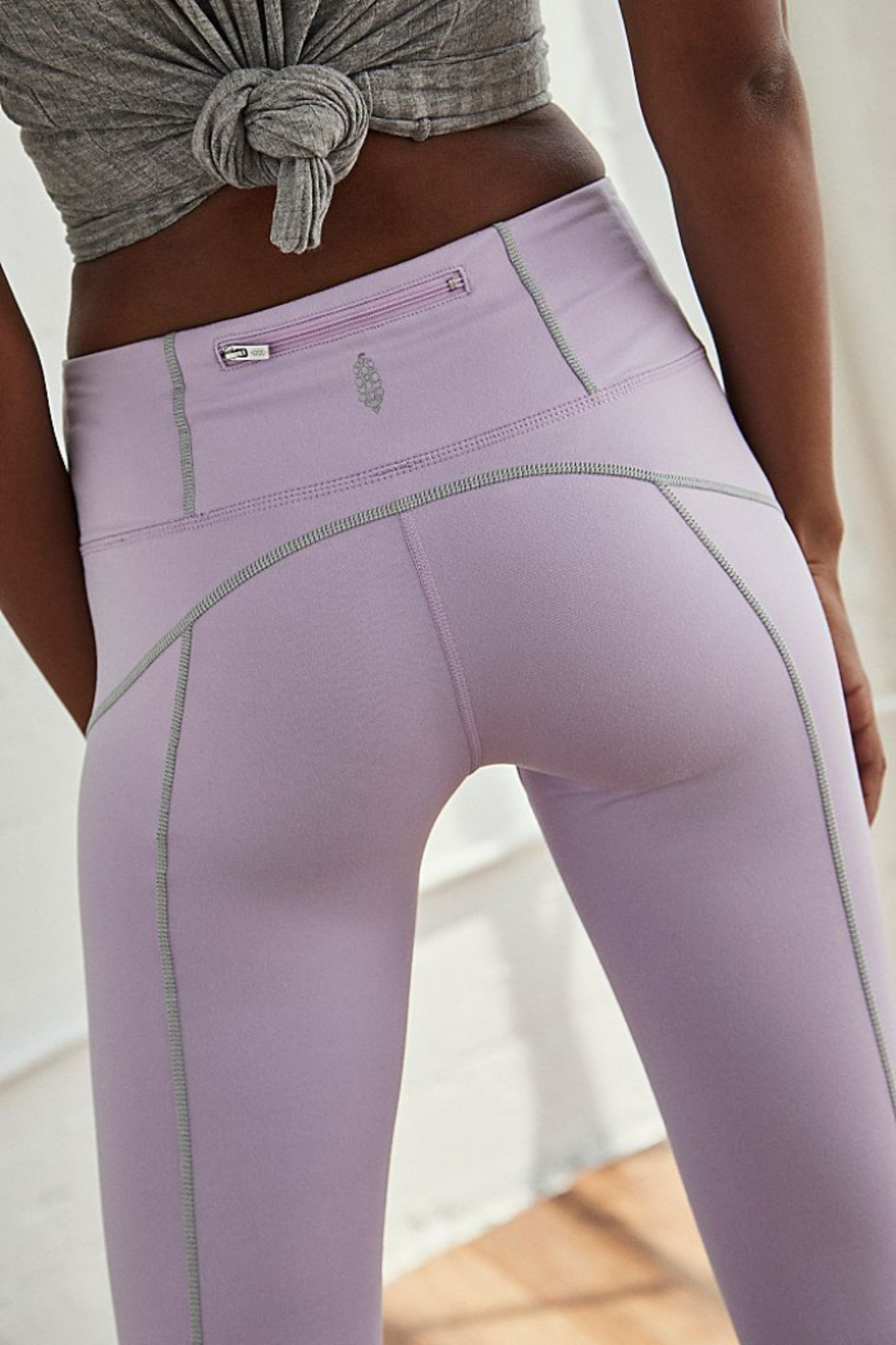 Free People You're a Peach Legging - Side Cropped Image