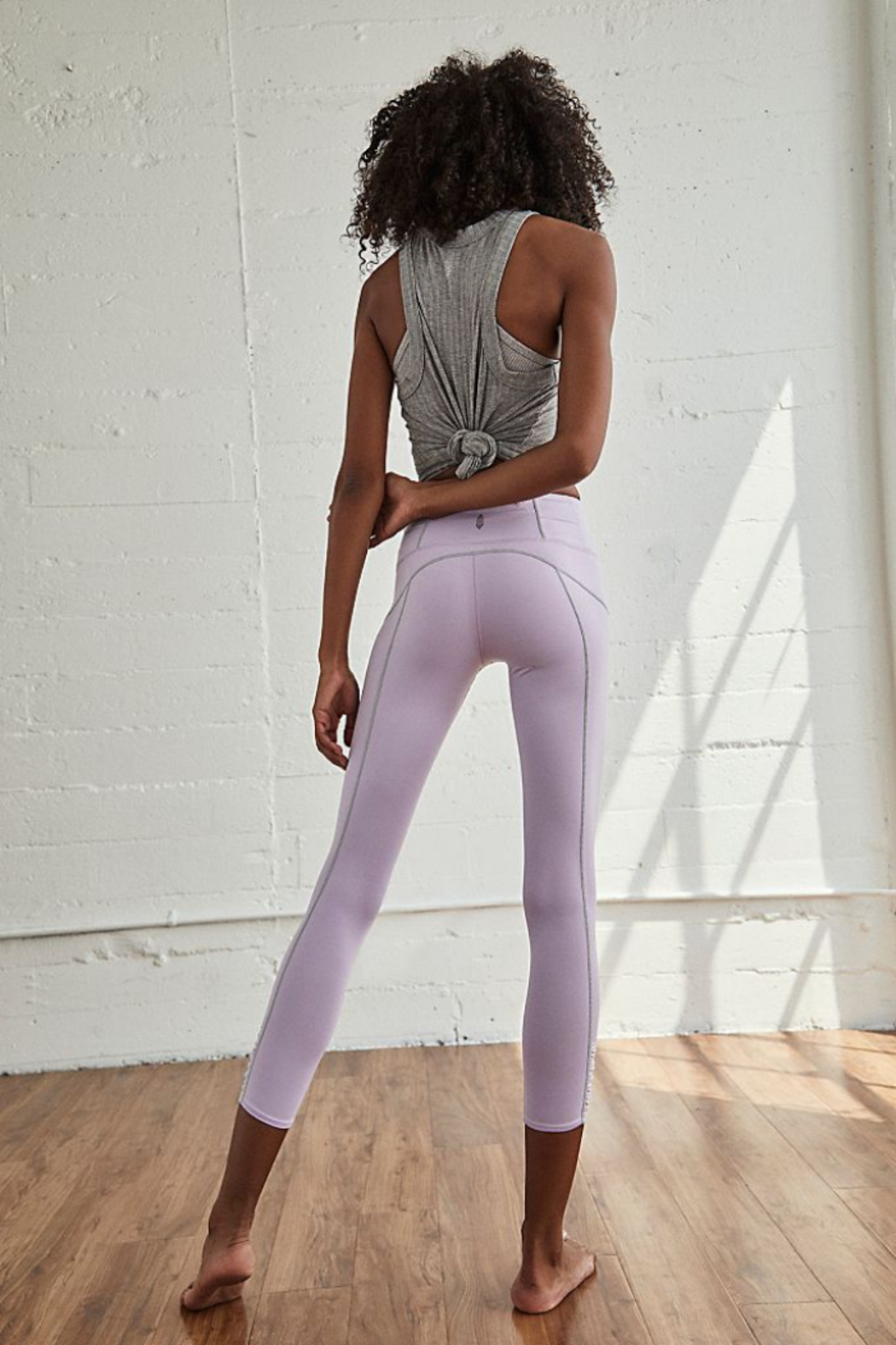 Free People You're a Peach Legging - Front Full Image