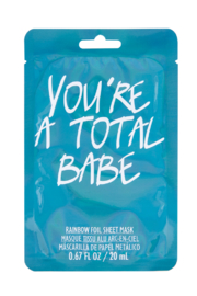 Fashion Angels You're A Total Babe Face Mask - Product Mini Image