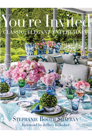 Rizzoli You're Invited: Classic, Elegant Entertaining - Front cropped