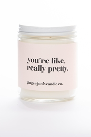 Ginger June Candle Co. You're Like, Really Pretty Candle - Product Mini Image