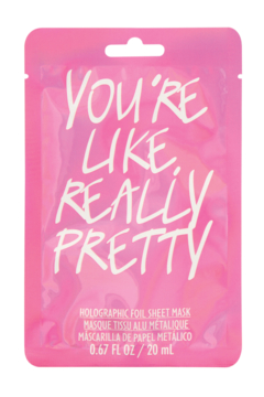 Fashion Angels You're Like Really Pretty Face Mask - Alternate List Image