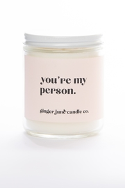 Ginger June Candle Co. You're My Person Candle - Product Mini Image