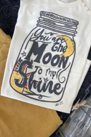 L&B Life You're the Moon to my Shine Tee - Product Mini Image
