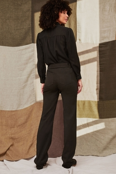 Ecru Young Belted Pine Pant - Alternate List Image