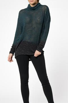 Young Fabulous & Broke Green Ombre Sweater - Product List Image
