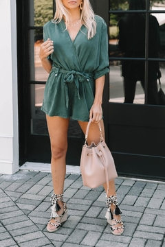 Young Fabulous & Broke Silas Chambray Romper - Alternate List Image