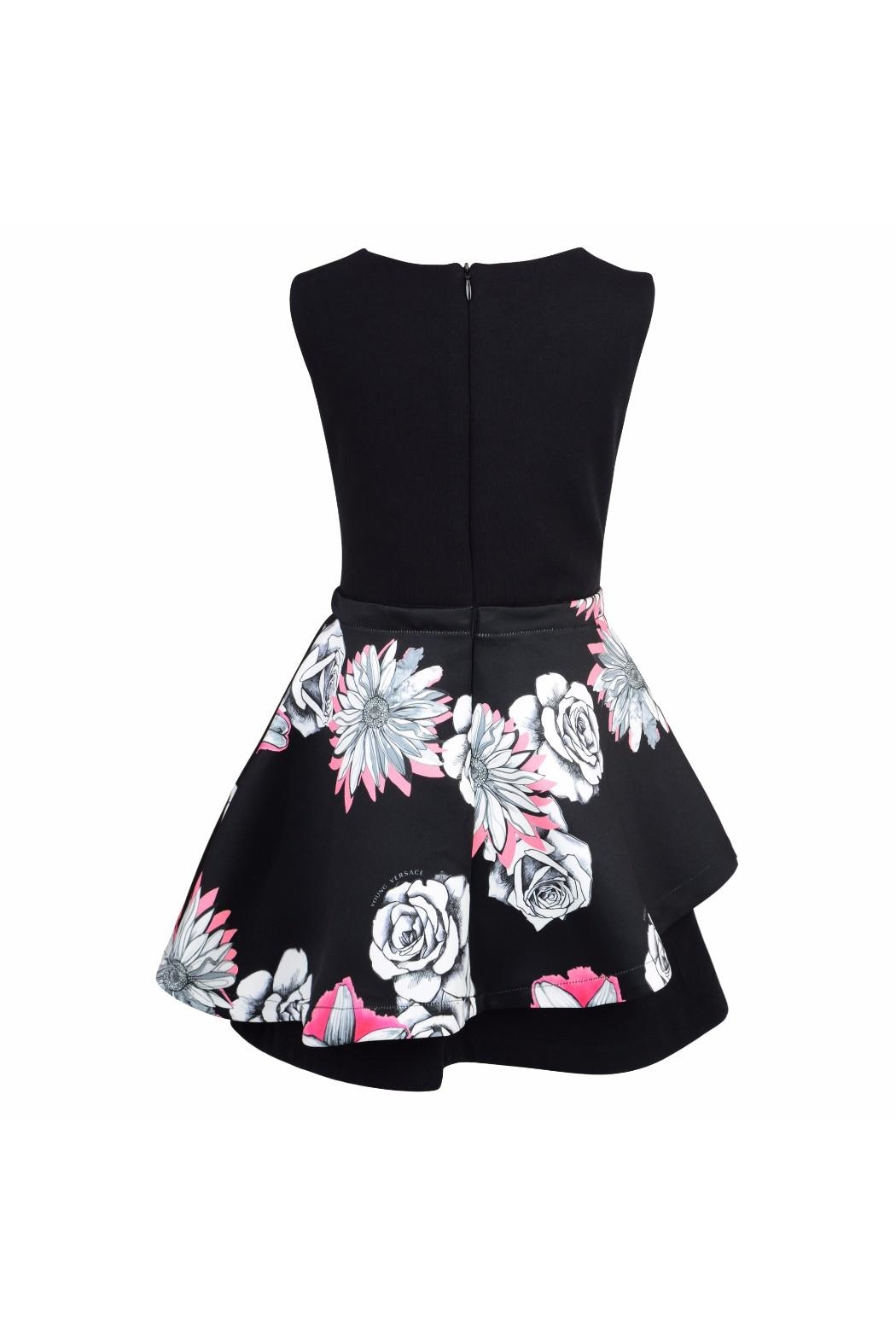 d766bbe70 Young Versace Girls Floral Dress - Side Cropped Image