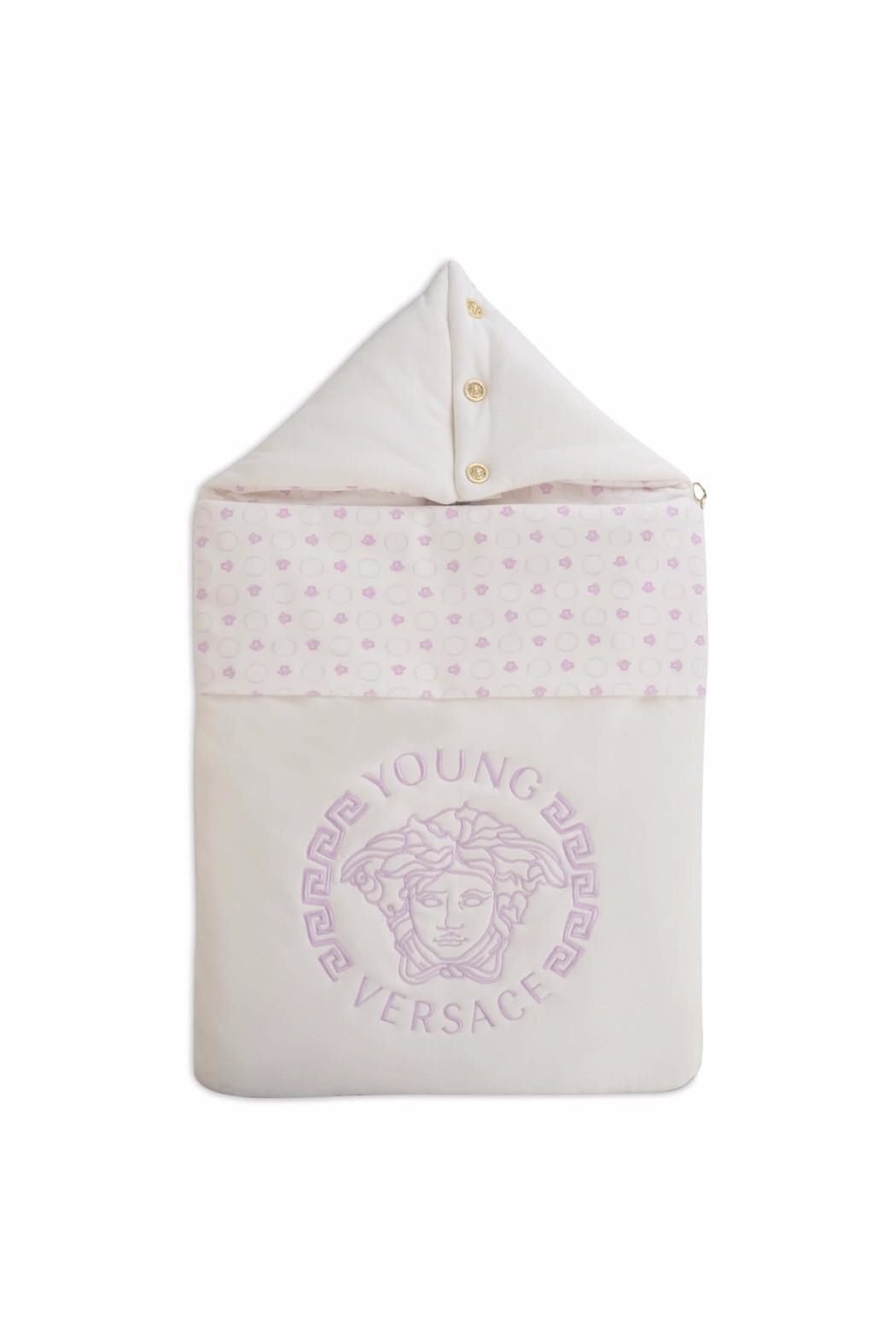 Young Versace Medusa Sleeping Bag - Front Cropped Image 7df53ea761b00