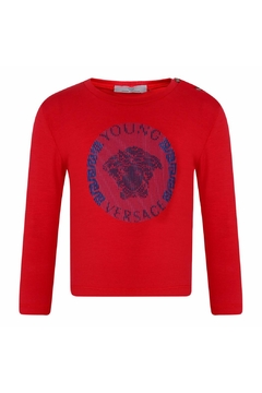 Shoptiques Product: Red Logo Shirt