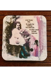 High Cotton Your Boots Coaster - Product Mini Image