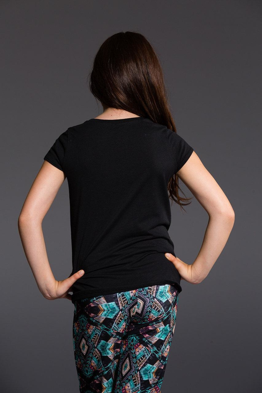 Onzie Youth Cap Sleeve - Side Cropped Image