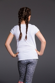 Onzie Youth Cap Sleeve - Back cropped