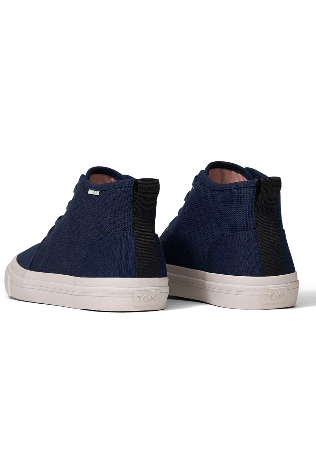 TOMS Youth Carlo Canvas Mid Sneakers - Side Cropped Image