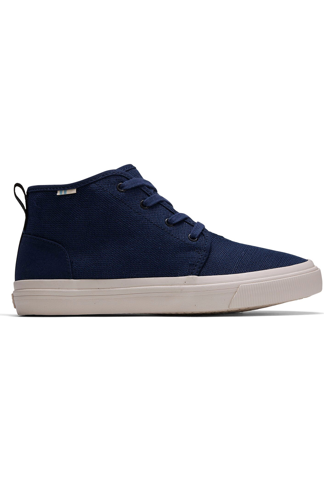 TOMS Youth Carlo Canvas Mid Sneakers - Front Cropped Image