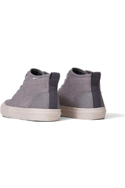 TOMS Youth Carlo Canvas Mid Sneakers - Side cropped