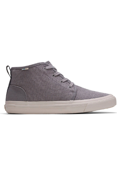 TOMS Youth Carlo Canvas Mid Sneakers - Product List Image