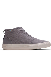 TOMS Youth Carlo Canvas Mid Sneakers - Front cropped