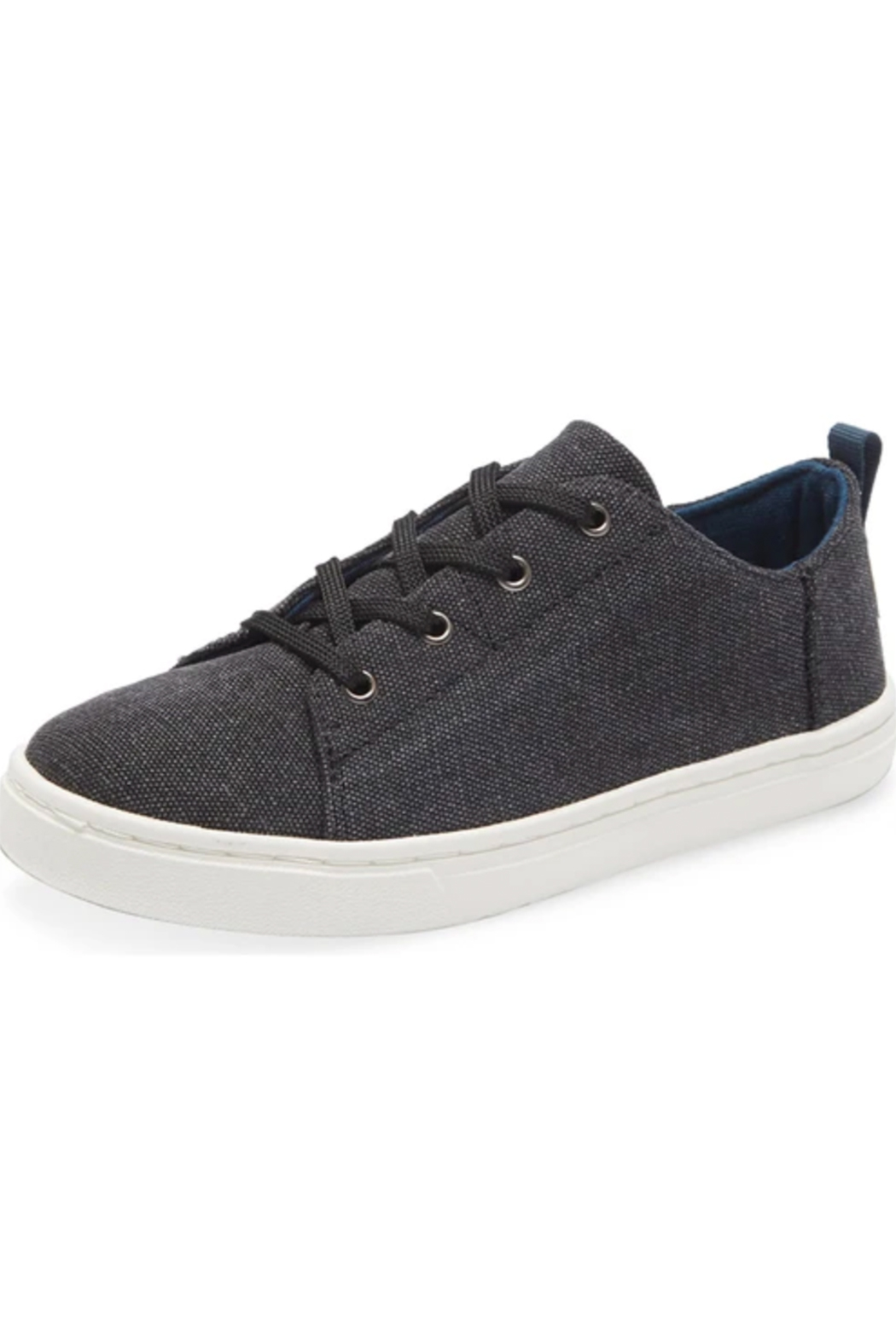 TOMS Youth Lenny Black Washed Canvas - Main Image