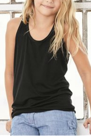 Bella Youth Racerback Tank - Front cropped