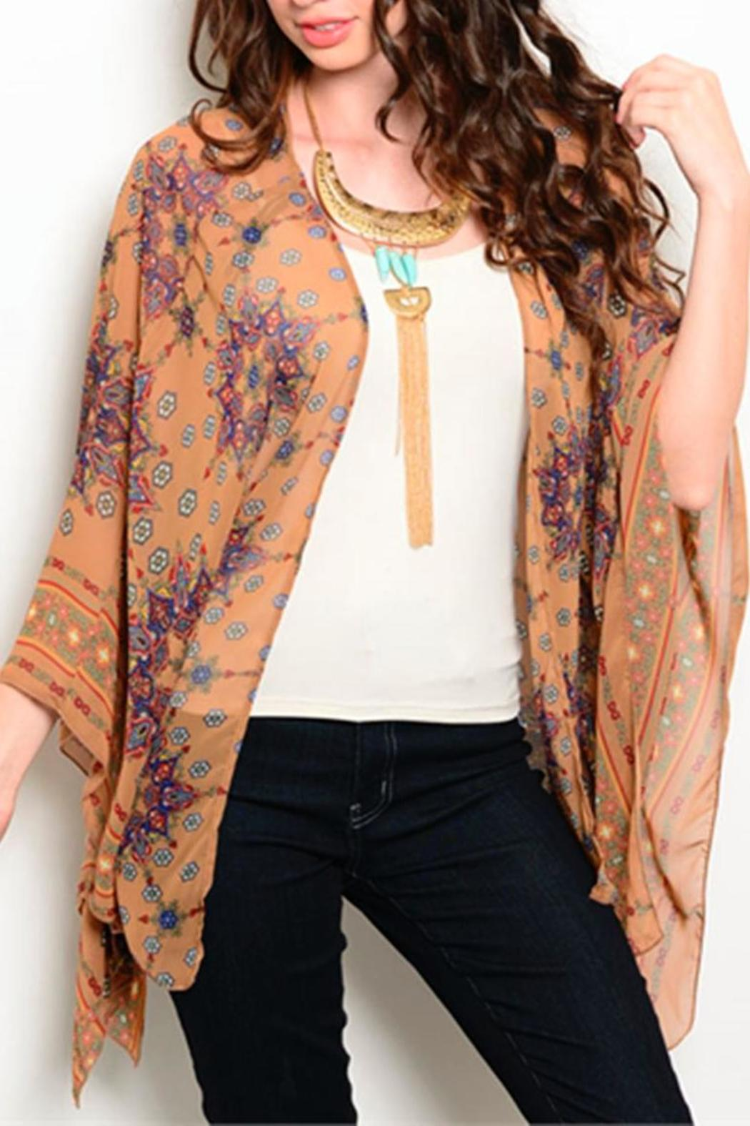 Yoyo 5 Tan Kimono Cardigan from Tennessee by The Owl Cove — Shoptiques
