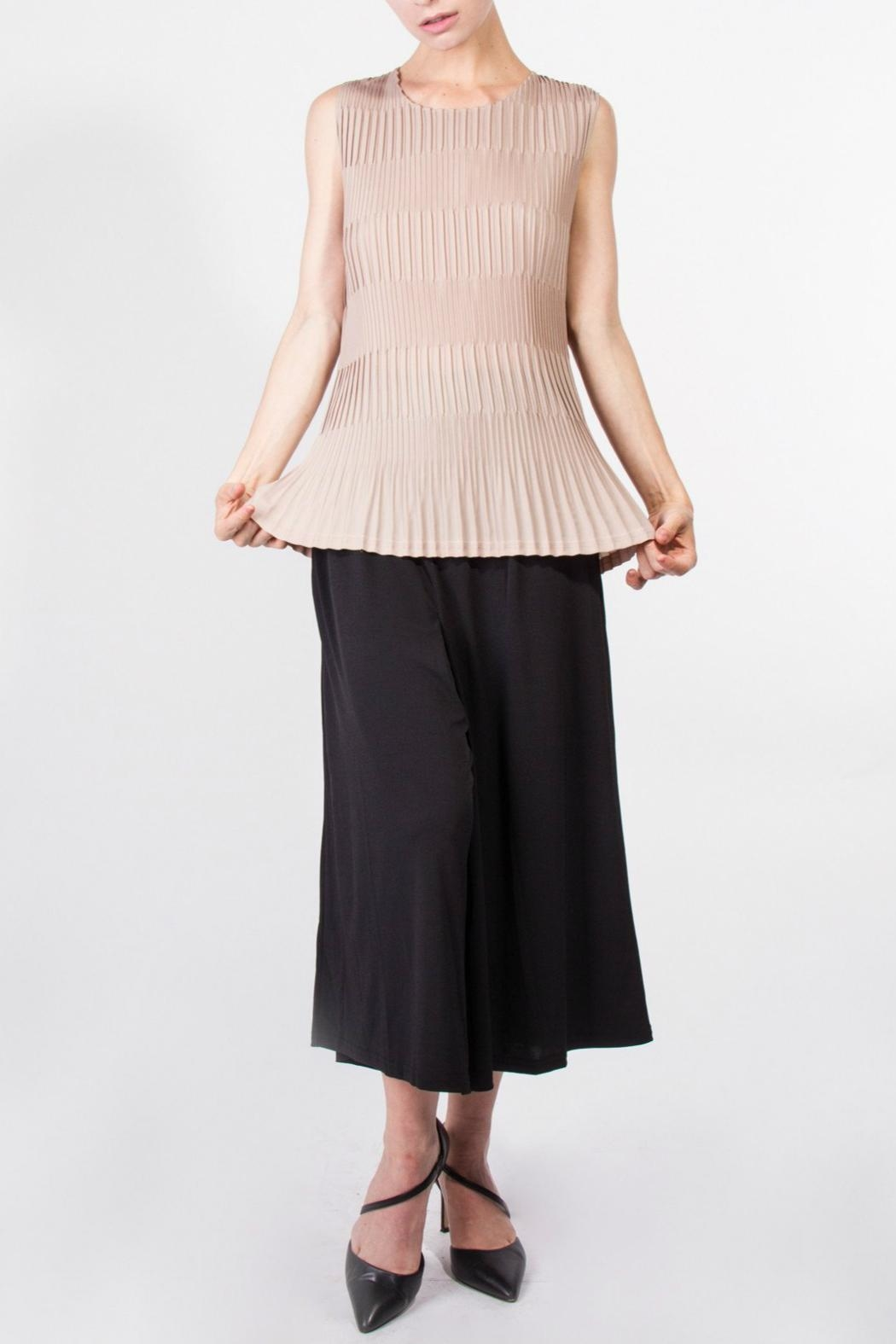 01e21f5c4e6649 Yuki Tokyo Adriana Pleated Tops from Crouch End by Scarecrow ...