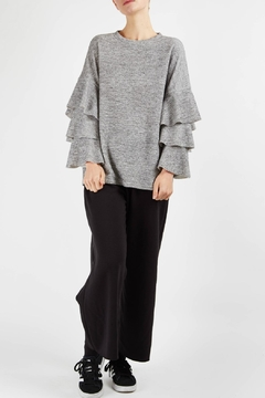 Shoptiques Product: Kylie Ruffle Knits