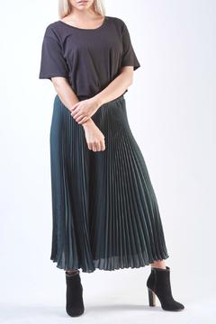 Shoptiques Product: Pleated Green Culottes Skirt