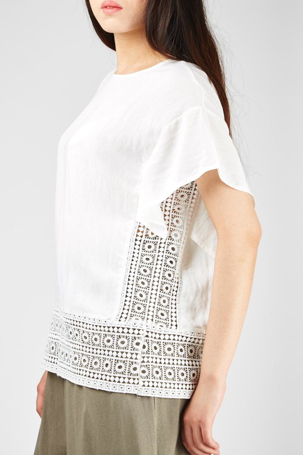 6d2e4f1c19f37f Yuki Tokyo Square Lace Blouses from Crouch End by Scarecrow Boutique ...