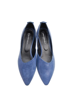 Yuko Imanishi Angleflat Blue Shoe - Product List Image