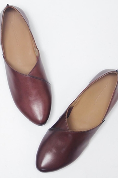 Yuko Imanishi Leather Ballet Flat - Alternate List Image