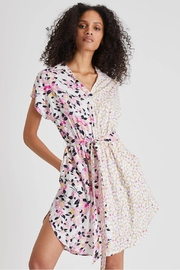 French Connection Yulia Printed Shirt Dress - Product Mini Image