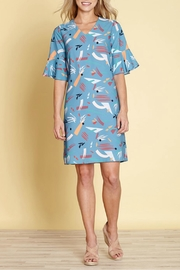 Yumi Abstract Strokes Dress - Product Mini Image