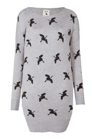 Yumi Crane Sweater Dress - Product Mini Image