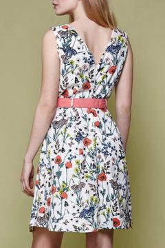 Shoptiques Product: Floral Belted Day Dress