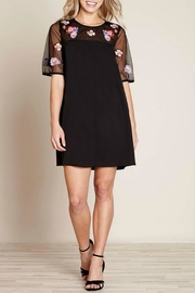 Yumi Floral Embroidery Tunic - Product Mini Image