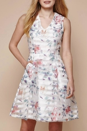 Yumi Floral Organza Dress - Front cropped