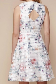 Yumi Floral Organza Dress - Front full body
