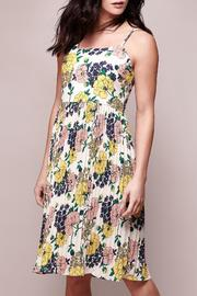 Yumi Floral Pleated Dress - Product Mini Image