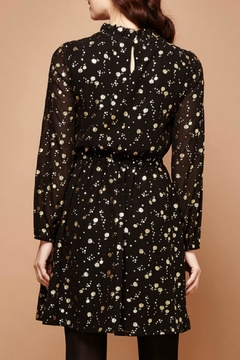 Yumi Gold Foil Dress - Alternate List Image