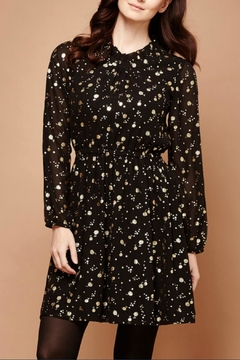 Yumi Gold Foil Dress - Product List Image